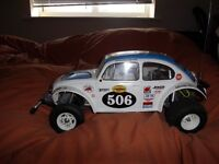 TAMIYA SAND SCORCHER WITH 2 CHARGERS SLOW N FAST
