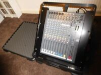 Allen & Heath ZED12FX analogue mixer in Gator flip up case - excellent condition