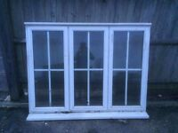 Complete UPVC Georgian Bar Window - LOCAL FREE DELIVERY