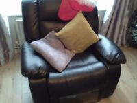 Two seater sofa and two chairs