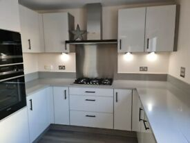 Like new top quality Quartz worktop, sink and tap