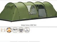 Vango Icarus 1000 Tent, Side Canopy, Footprint plus extras.