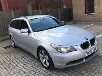 2005 BMW 525D 5 SERIES 2.5 SE TOURING ESTATE AUTOMATIC DIESEL LONG MOT SPACIOUS NOT 520 530 X5 X3