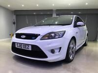 FORD FOCUS 2.5 ST-3 3d 223 BHP FREE DELIVERY TO YOUR DOOR (white) 2010