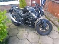 2015 AJS 125 Motorbike