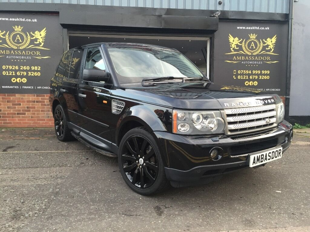 2006 land rover range rover sport 4 2 v8 supercharged 5dr. Black Bedroom Furniture Sets. Home Design Ideas