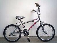 "(1830) 20"" 12"" Lightweight Steel UNIVERSAL BMX BIKE BICYCLE; 360 GYRO; Age: 11+; Height: 147-193 cm"