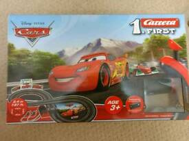 Carrera Lightening McQueen And Francesco Race Track