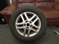 MITSUBISHI SHOGUN PININ 16 INCH ALLOY WHEEL AND TYRE 215/65/16