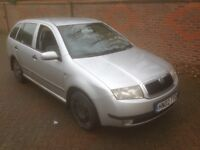 Skoda Fabia estate recent 700 service