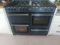 Belling gas double range cooker