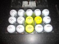 A GRADE GOLF BALLS x 71 TOP MAKES