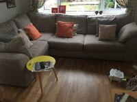 Large Next corner sofa in excellent condition. It is only 12 months old