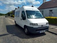 Reluctant sale of Peugot Boxer Motor Caravan conversion
