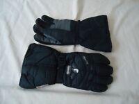 Ski Gloves - Reusch Aqua tex Nylon/Leather