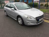 peugeot 508 2012 12 plate 2.0 hdi allure sat nav glass panoramic sunroof leather seats
