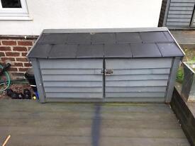 Garden storage cupboard