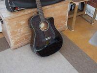 Fender CD-60CE BLK DS-V2 Electro Acoustic Guitar