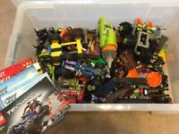 Lego bundle, Ninjago, Power Miners, Pirates, City and Technic.