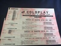 Coldplay Paris (16th July) £150 [Cat 2 , 4 tickets]