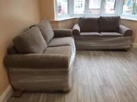 Harvey's Evie 3 seater and 2 seater sofa