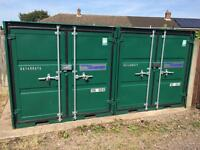 Small storage container to let in Gated Compound