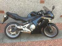 Kawasaki ER6F 650cc 2008