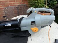Titan(screwfix) garden vac/blower