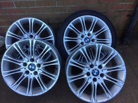 "18"" BMW mv4 alloys"
