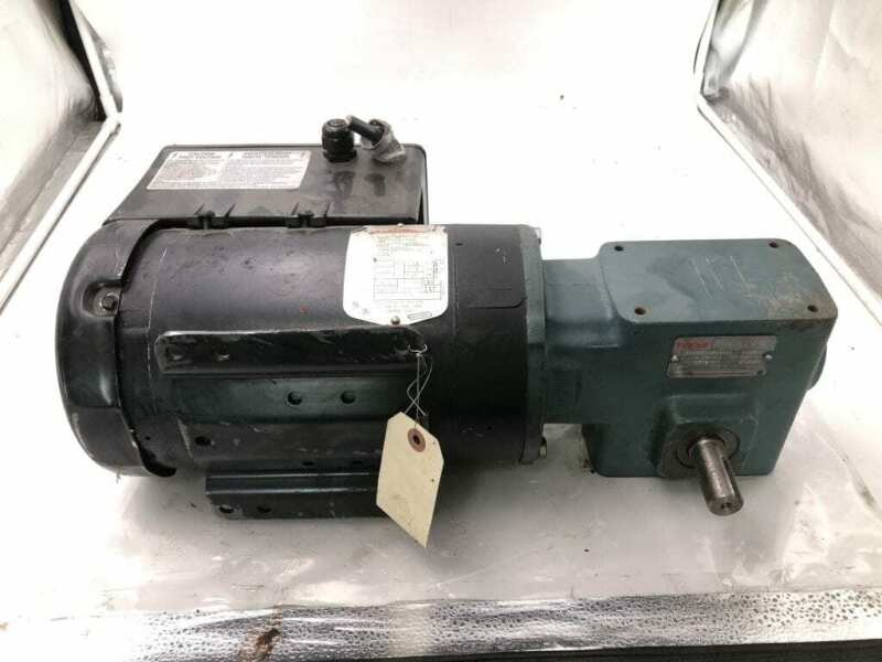 Dodge Tigear MR94879L1-T-HC Gear Drive/Speed Reducer 15:1 1HP 3PH w/ Smartmotor