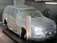 Toyota Land Cruiser, Hi-ace, Invincible, chassis treatment. Waxoyl service.
