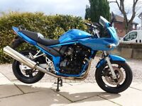 Suzuki Bandit GSF650, 3,300 miles MOT, Very clean and tidy standard bike