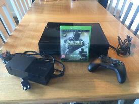 500GB Xbox One Console with Call of Duty: Modern Warfare Warfare Remastered