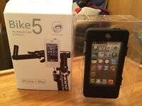 Waterproof Bike Mount for iPhone 5