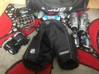 Junior full ice hockey kit