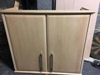 Kitchen wall unit cupboard