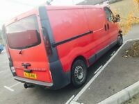 55 plate lwb Vauxhall vivaro tax and mot air con