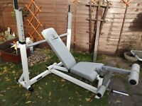 Keys Fitness professional olympic incline decline bench rated to over 300 kg