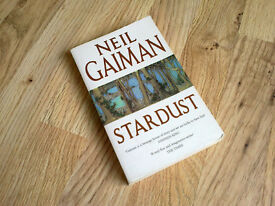 """Stardust"", signed by Neil Gaiman, paperback – read once"