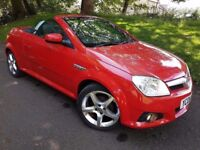 VAUXHALL TIGRA 1.4 EXCLUSIVE ~ HEATED LEATHER – FREE DELIVERY