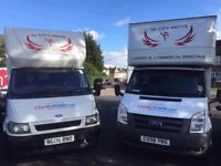 Luton van with tail lift AVAILABLE