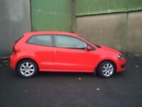 2010 RED VW POLO TDI 1.6 DIESEL 94k miles **Reduced Price -Quick Sale Required** Low Tax+ Insurance