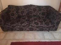 4 seater fabricated sofa