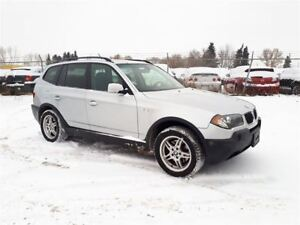 2006 BMW X3 2.5L V6 AWD!! Leather & Panoramic Sunroof!!
