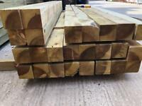 📱2.4m New Timber Posts ~ £10