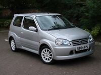 RARE MODEL!!! 2004 SUZUKI IGNIS 1.5 VVT SPORT 3dr, RECARO SEATS, LONG MOT, WARRANTY