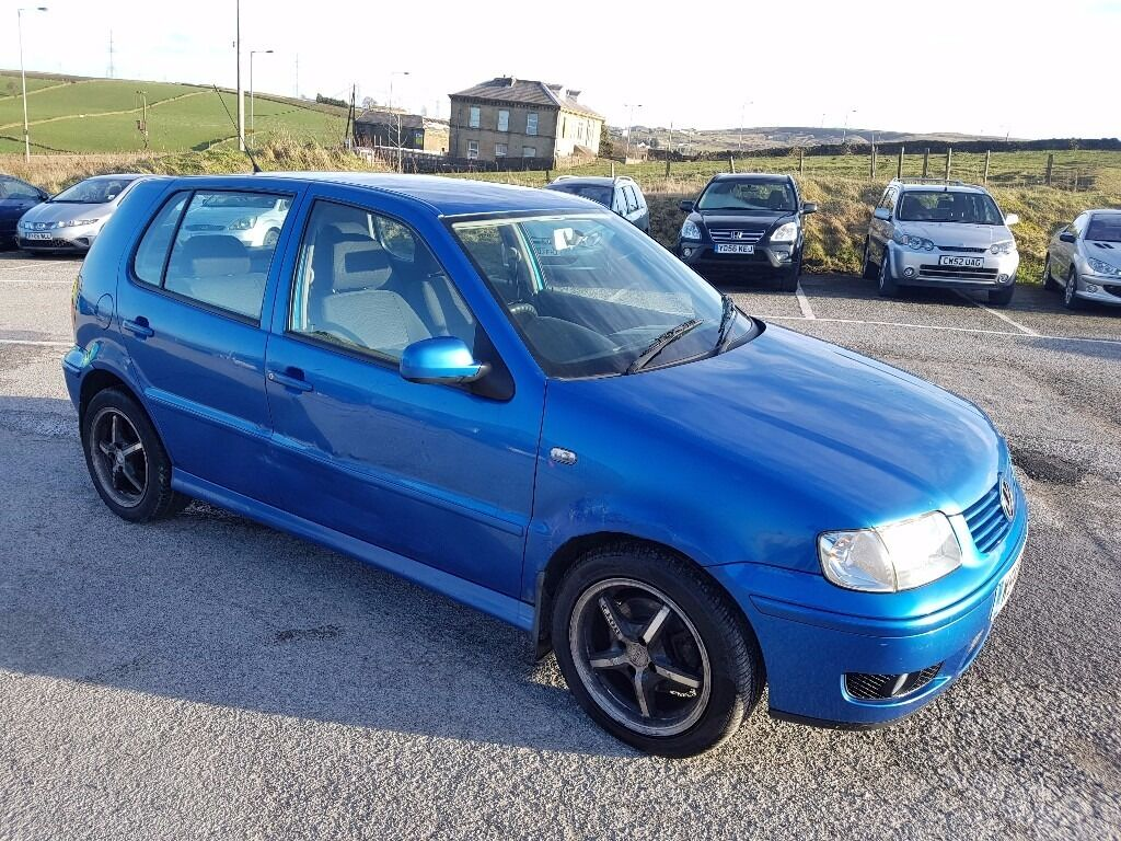 2000 volkswagen polo 1 4 tdi 5 door hatchback blue in denholme west yorkshire gumtree. Black Bedroom Furniture Sets. Home Design Ideas
