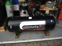 AIRMATE Compressor SIP 3 hp SRB 150 litre Belt Driven