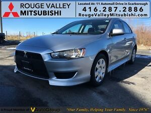 2012 Mitsubishi Lancer ES, NO ACCIDENT,   FROM 1.9% FINANCING AV
