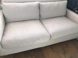Habitat 2 Seater Chester Sofa in excellent condition
